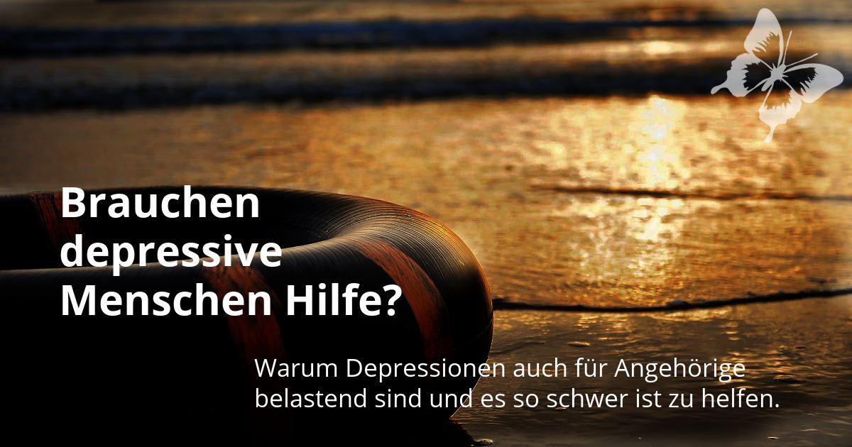 Rettungsring; steht für Hilfe bei Depressionen