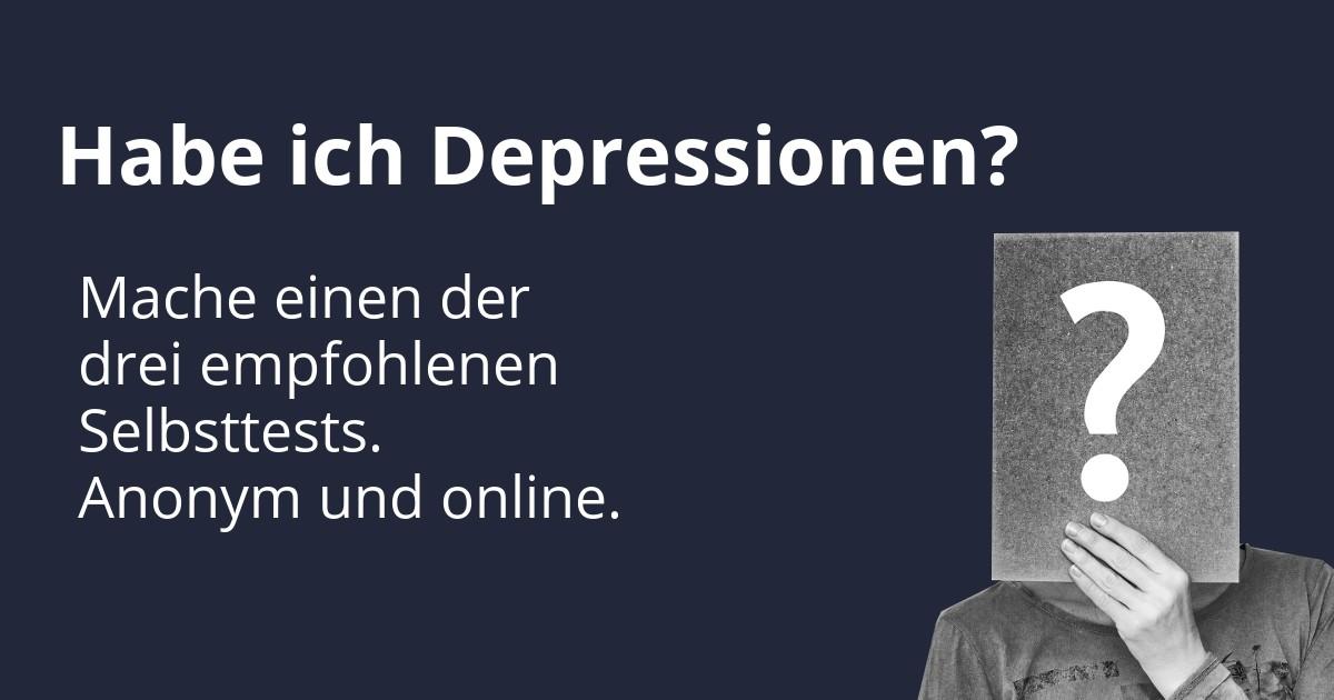 Depressionen Online Selbsttests