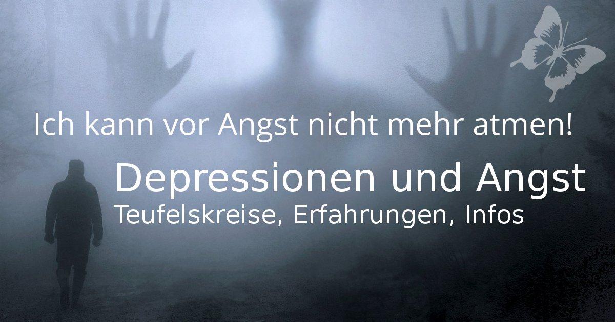 Angst Depressionen und Panik