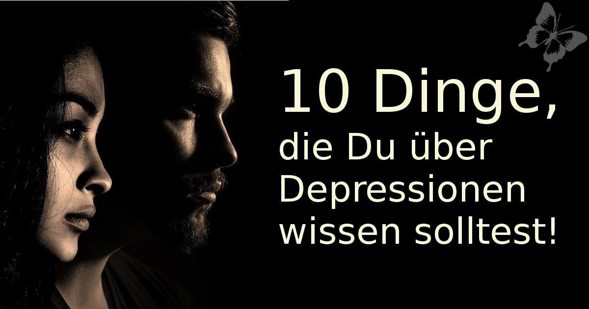Depressionen gehen jeden was an!
