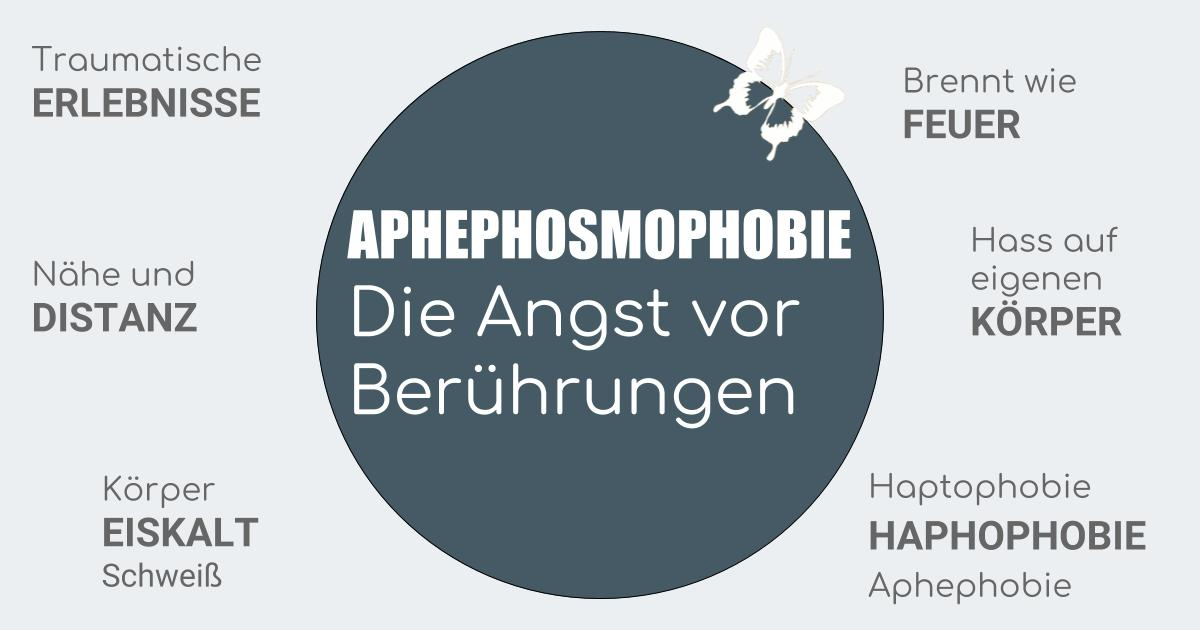 Aphephosmophobie Angst vor Berührungen
