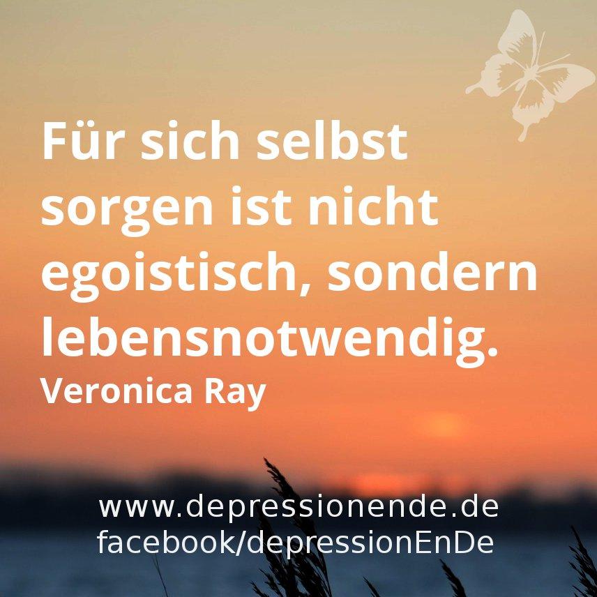 Für sich selbst sorgen ist nicht egoistisch, sondern lebensnotwendig - Veronica Ray