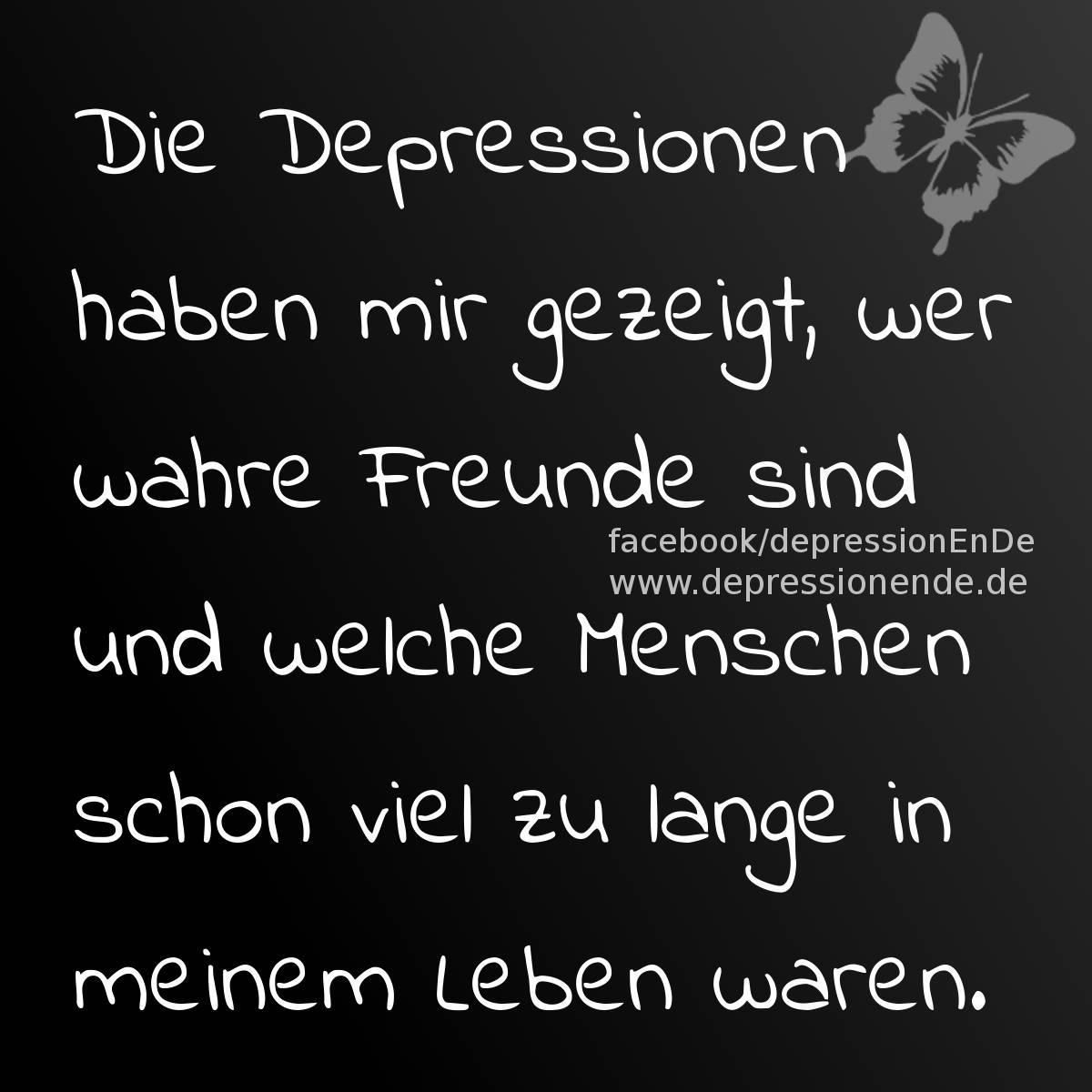 Depressionen: Zitate, Sprüche, Spruchbilder und Gedanken